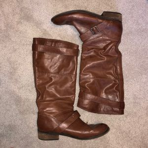 DV riding boots